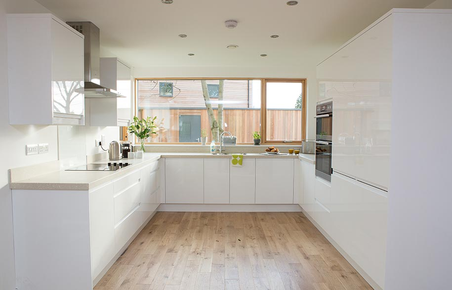 A kitchen at The Grove, Great Yeldham, Essex