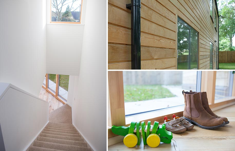 Practical, sustainable family homes, Great Yeldham, Essex