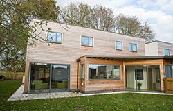 The Grove, sustainable housing development, Great Yeldham, Essex