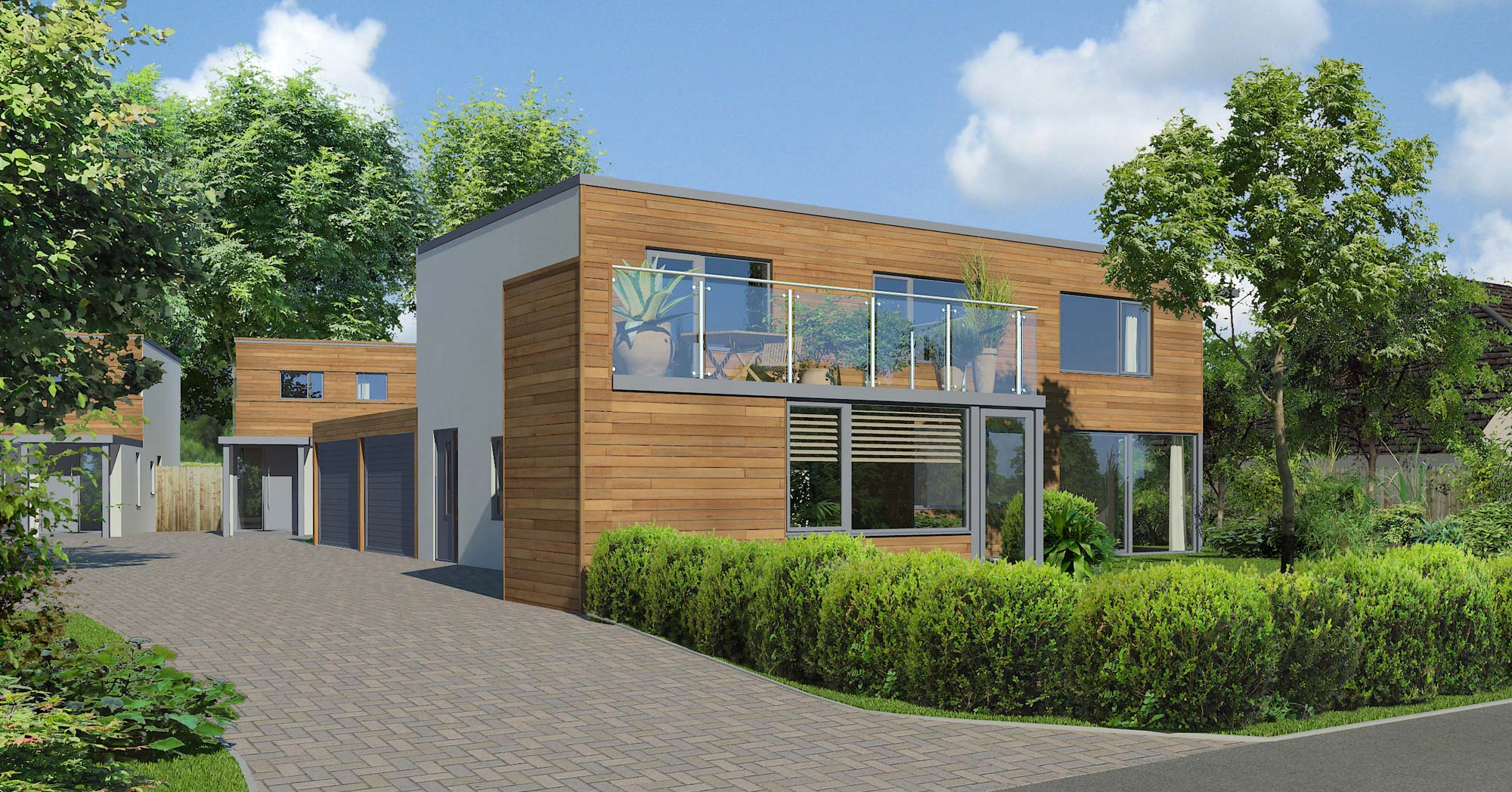 Sustainables homes constructed in Great Yeldham Essex : sustainable-houses - designwebi.com